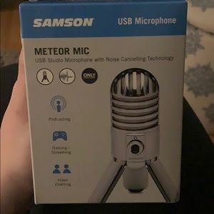 Samson Podcast Mic